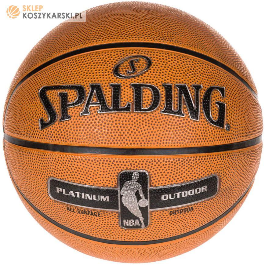24577bb3 Piłka Spalding NBA Platinum Streetball -SklepKoszykarski.pl