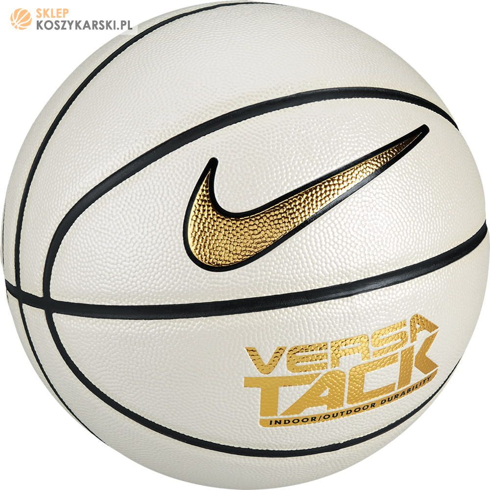08a7653e Piłka do koszykówki Nike Versa Tack In/Out White -SklepKoszykarski.pl