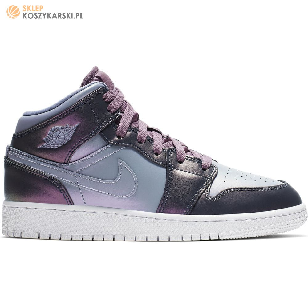 nike air jordan 1 mid gs purple