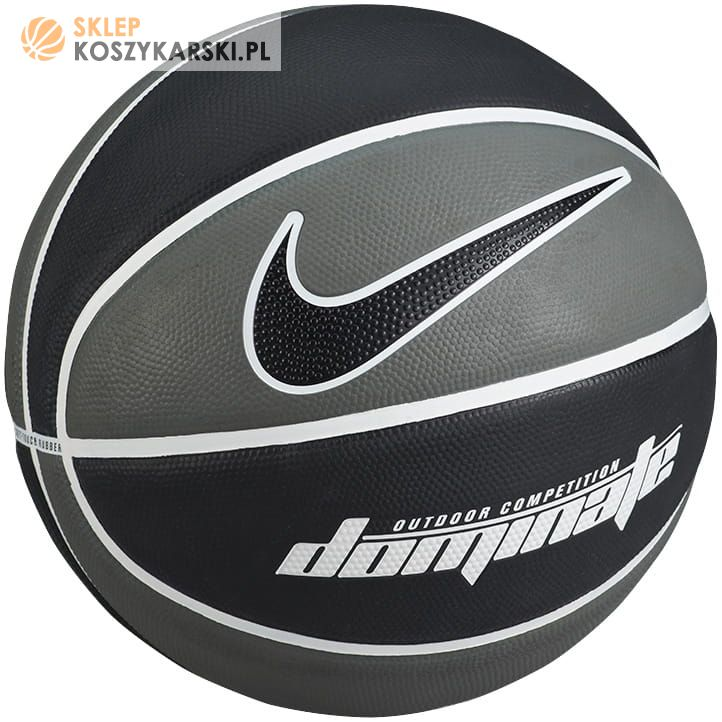aaec0ec2 Piłka do koszykówki Nike Dominate (szara) -SklepKoszykarski.pl