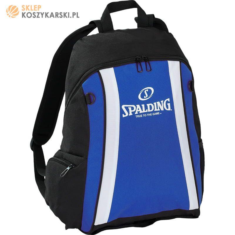 70033609f64df Plecak koszykarski Spalding - niebieski -SklepKoszykarski.pl