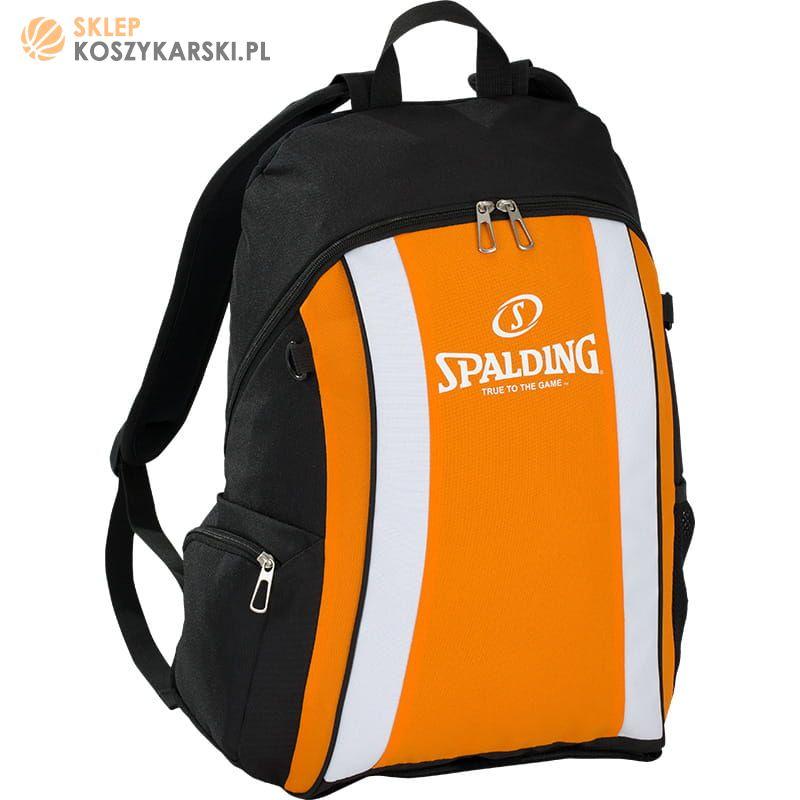 8d8bf08d97f9c Plecak do koszykówki Spalding - pomarańczowy -SklepKoszykarski.pl