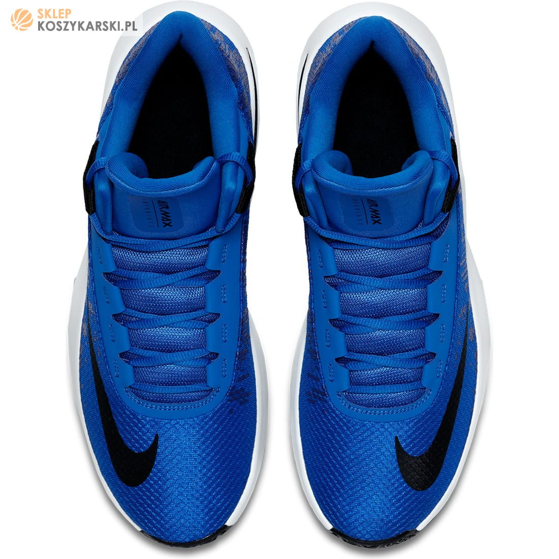 Nike Buty Air Max Infuriate 2 MID AA7066 400 niebieskie