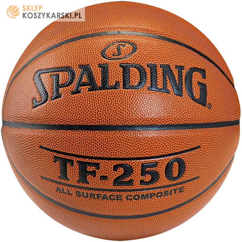 6fe83389 Piłka do koszykówki Spalding TF-250 -SklepKoszykarski.pl