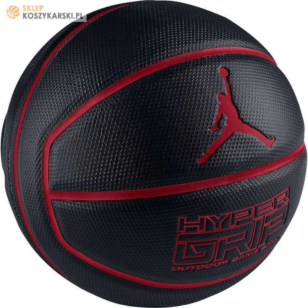 a7b32660 Piłka do koszykówki Jordan Hyper Grip Black -SklepKoszykarski.pl