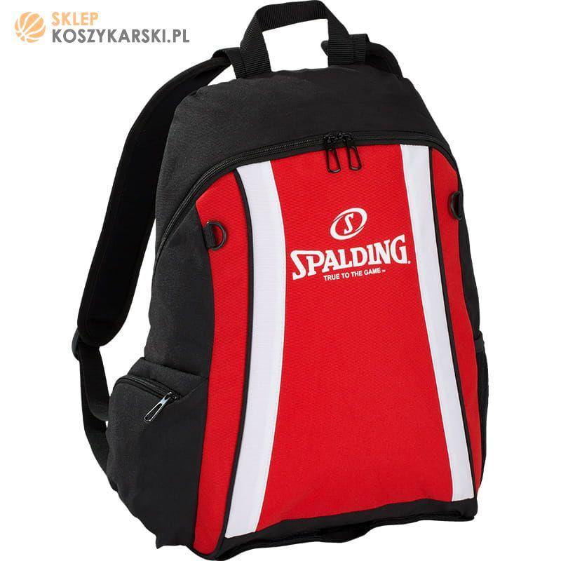 2f2642d3f4d6b Plecak Spalding - czerwony -SklepKoszykarski.pl