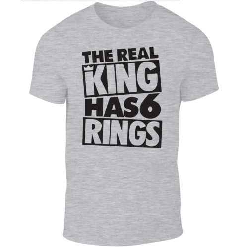 Koszulka The Real King has 6 Rings